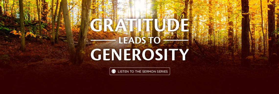 Gratitude Leads to Generosity