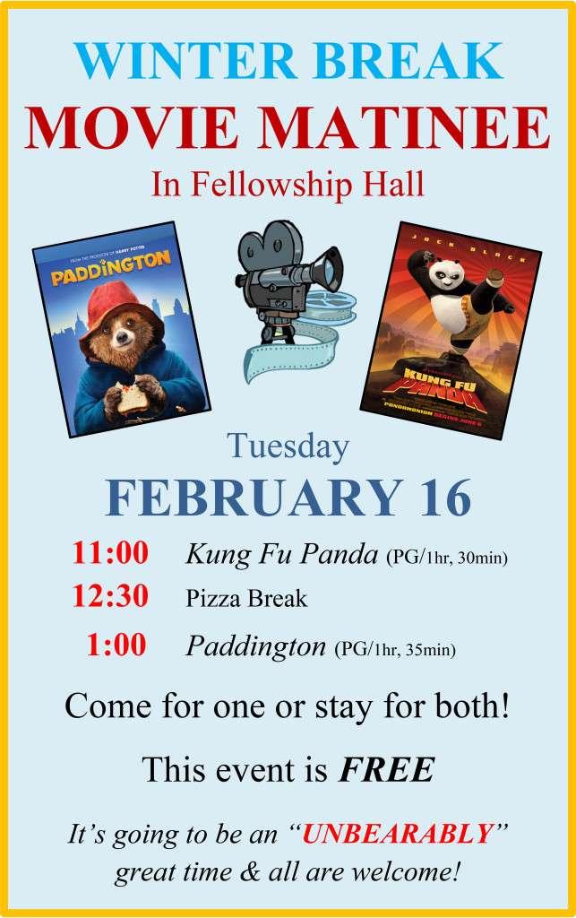 CM -- Paddington Kung Fu Panda large movie poster feb16